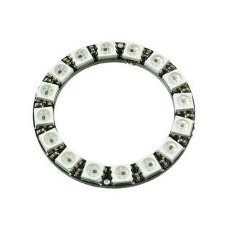 Кольцо со светодиодами WS2812B (16 шт.)