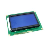 LCD дисплей 128x64 (ST7920) blue