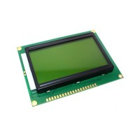 LCD дисплей 128x64 (ST7920) green